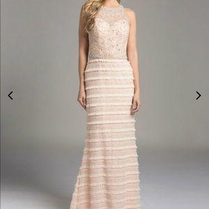 LARA beaded prom dress / gown